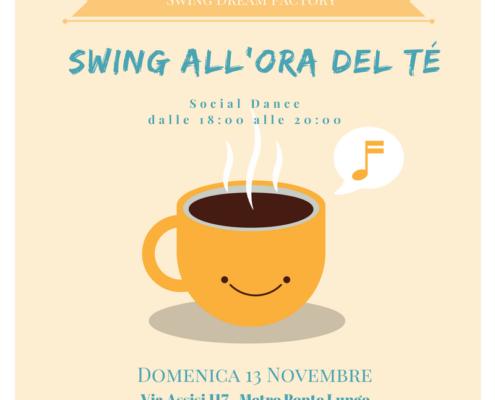 Swing all'ora tè evento Social Dance Roma