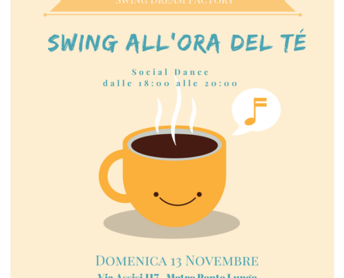 Swing all'ora tè evento Social Dance Roma
