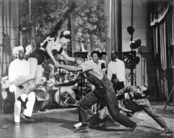 """Scene di ballo dal film """"Hellzapoppin"""""""